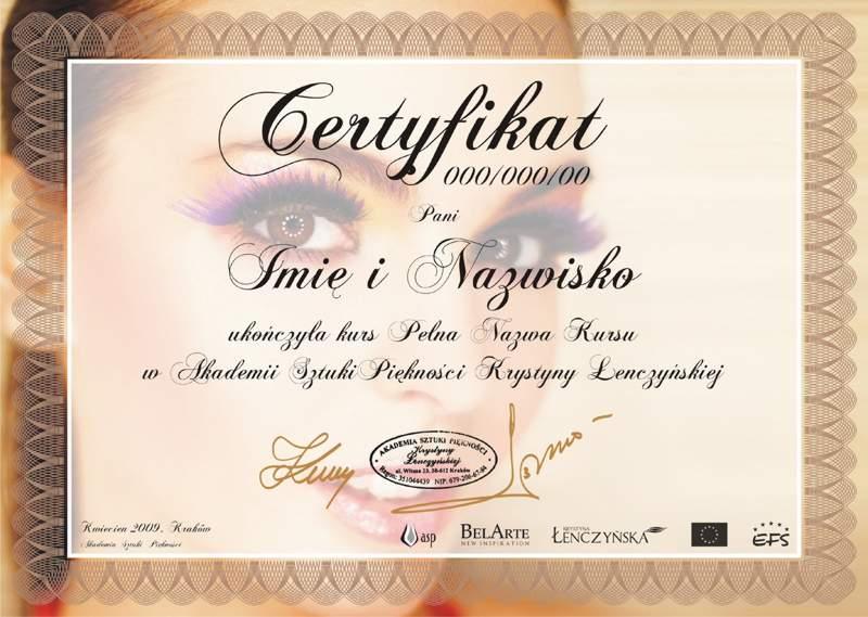 Certyfikat Henna