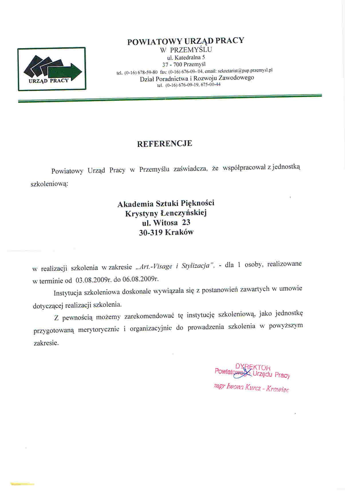 Powiatowy Urząd Pracy w Przemyślu-Przemyśl