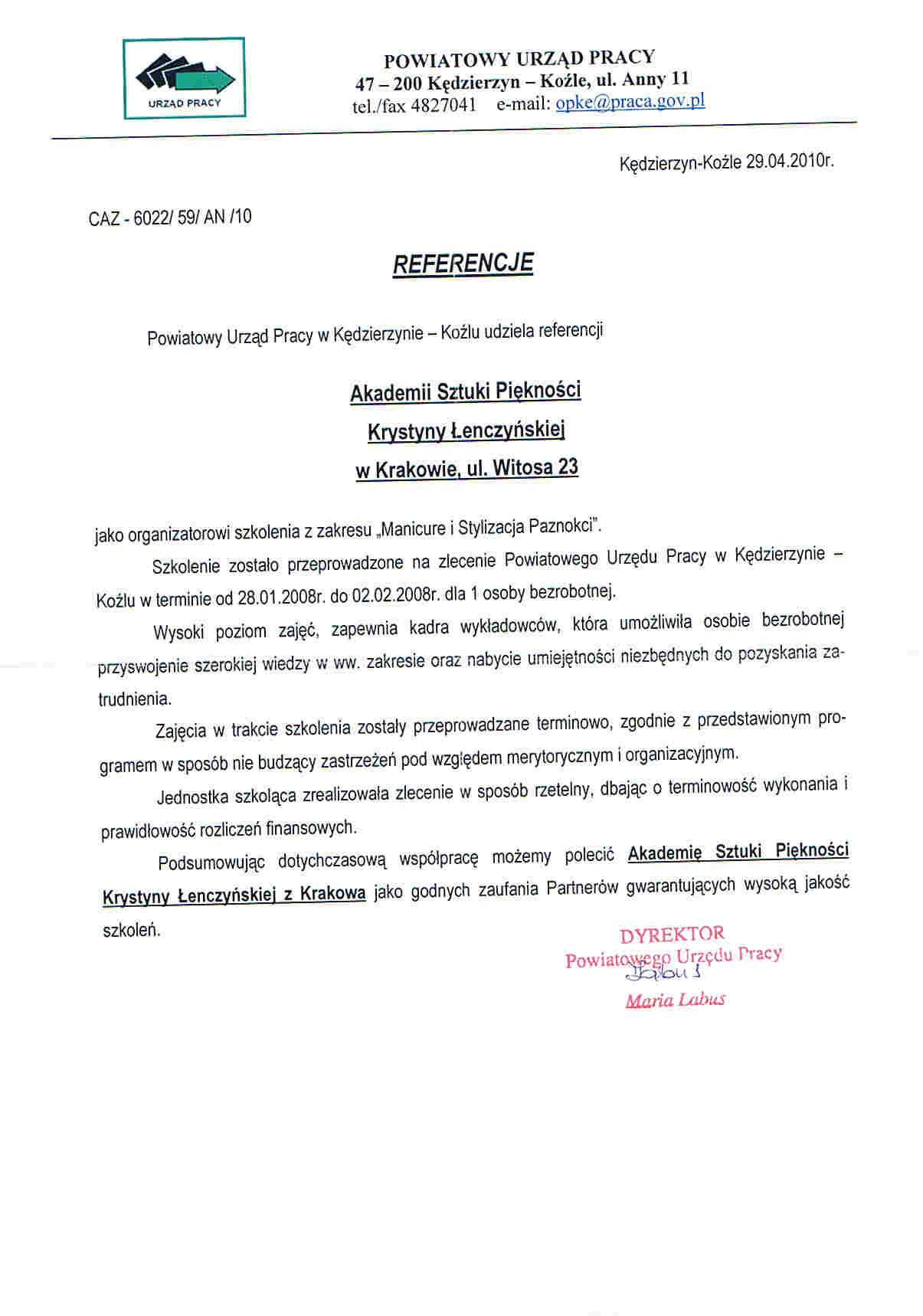 Powiatowy Urząd Pracy w Kędzierzynie Koźlu-Kędzierzyn Koźle