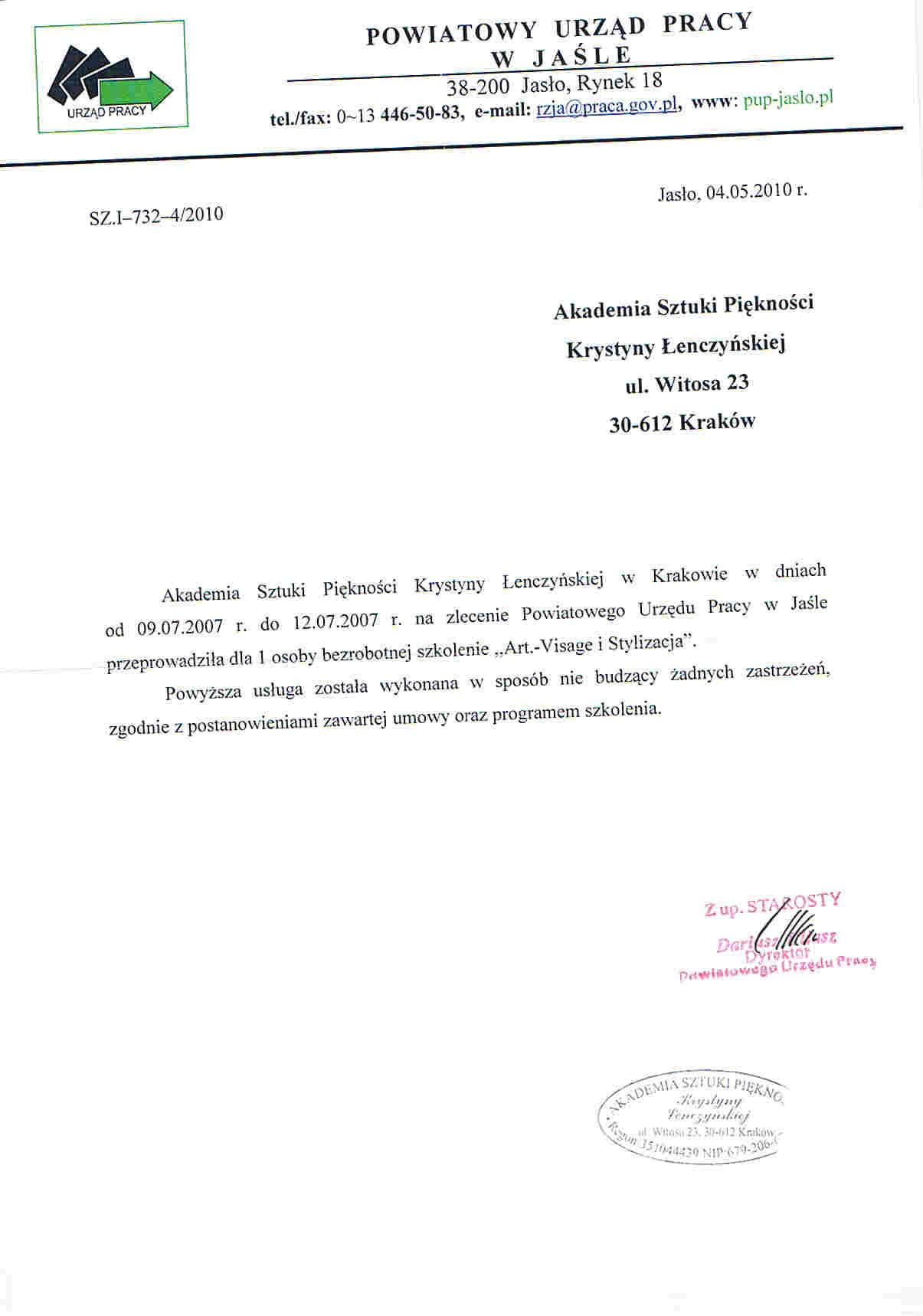 Powiatowy Urząd Pracy w Jaśle-Jasło