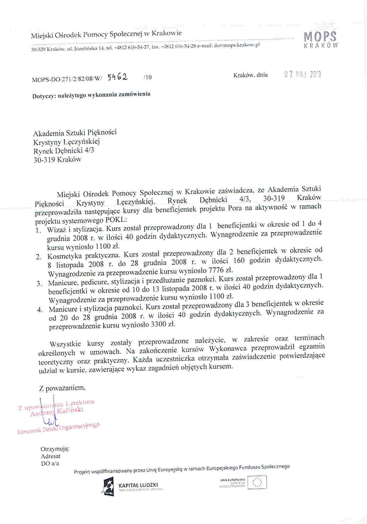 Miejski Ośrodek Pomocy Społecznej w Krakowie-Kraków