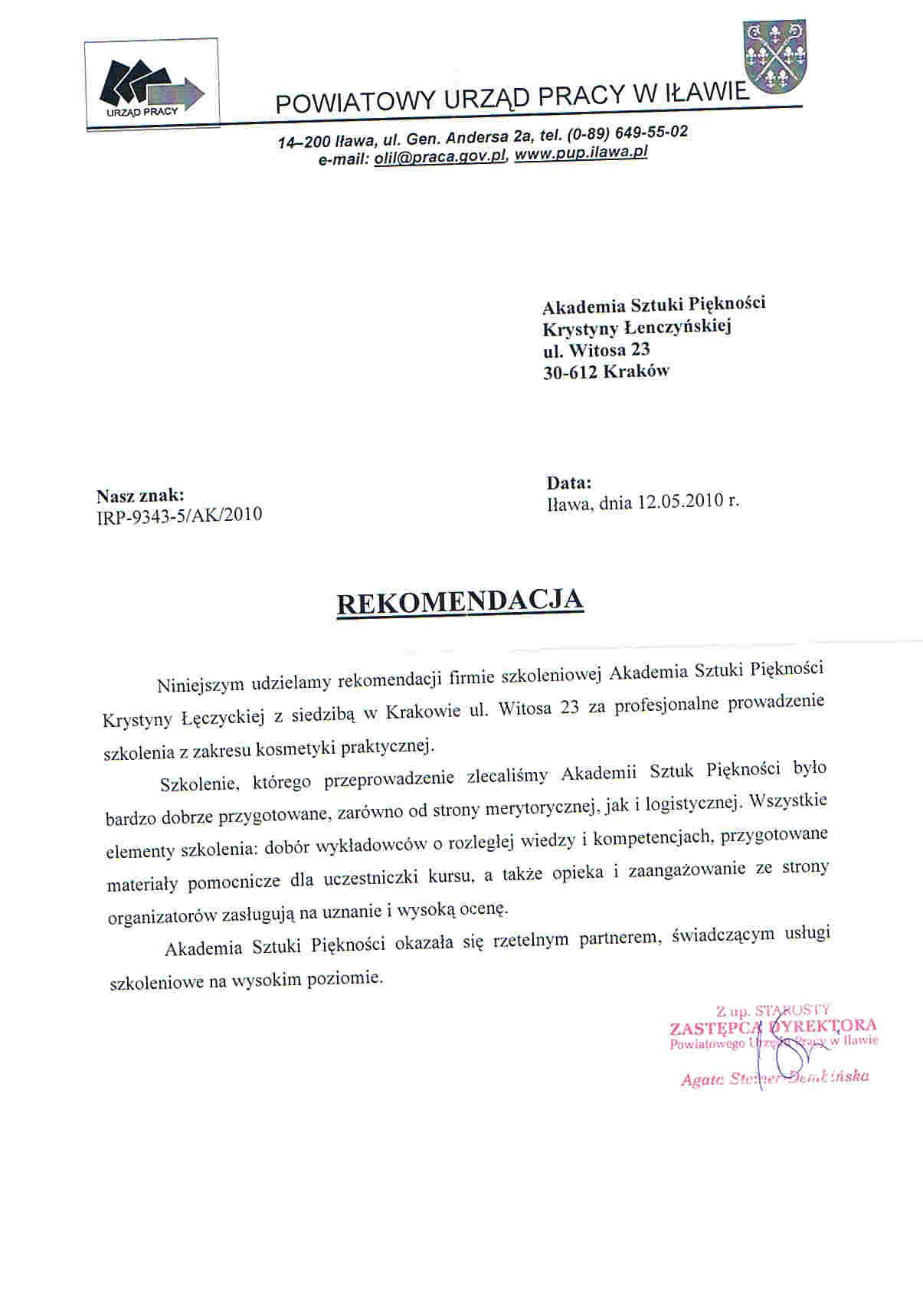 Powiatowy Urząd Pracy w Iławie-Iława