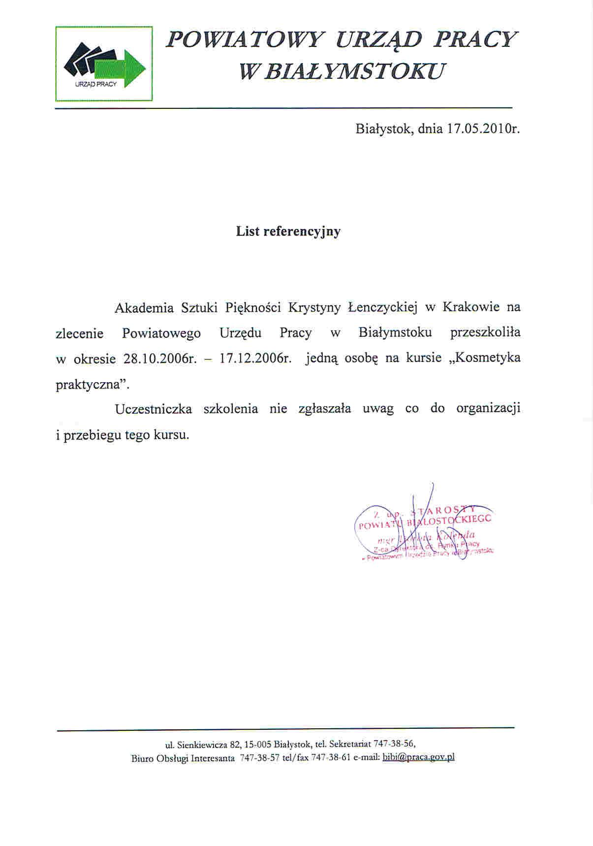 Powiatowy Urząd Pracy w Białymstoku-Białystok