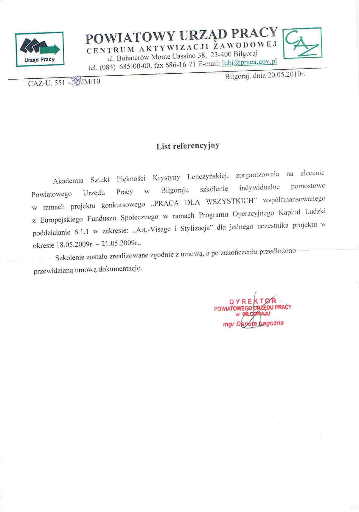 Powiatowy Urząd Pracy w Biłgoraju-Biłgoraj
