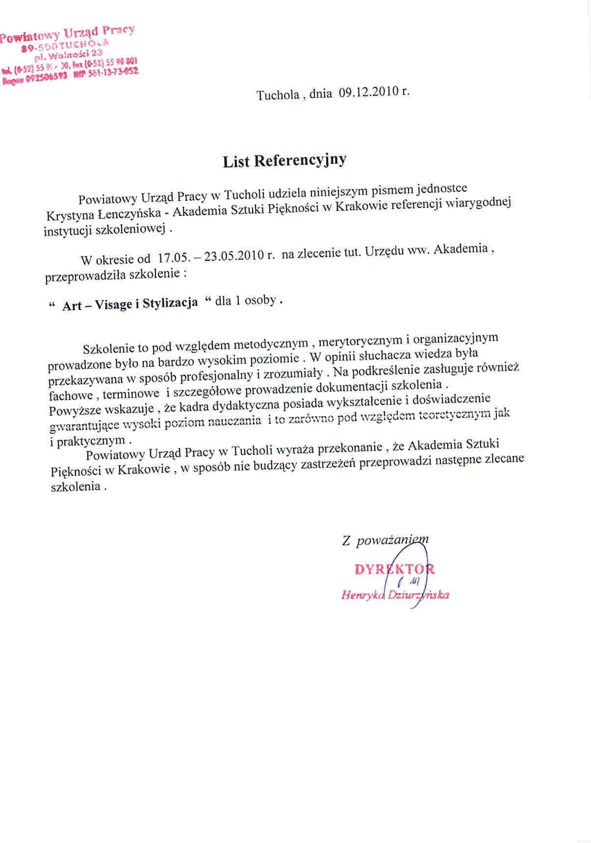 Powiatowy Urząd Pracy w Tucholi-Tuchola