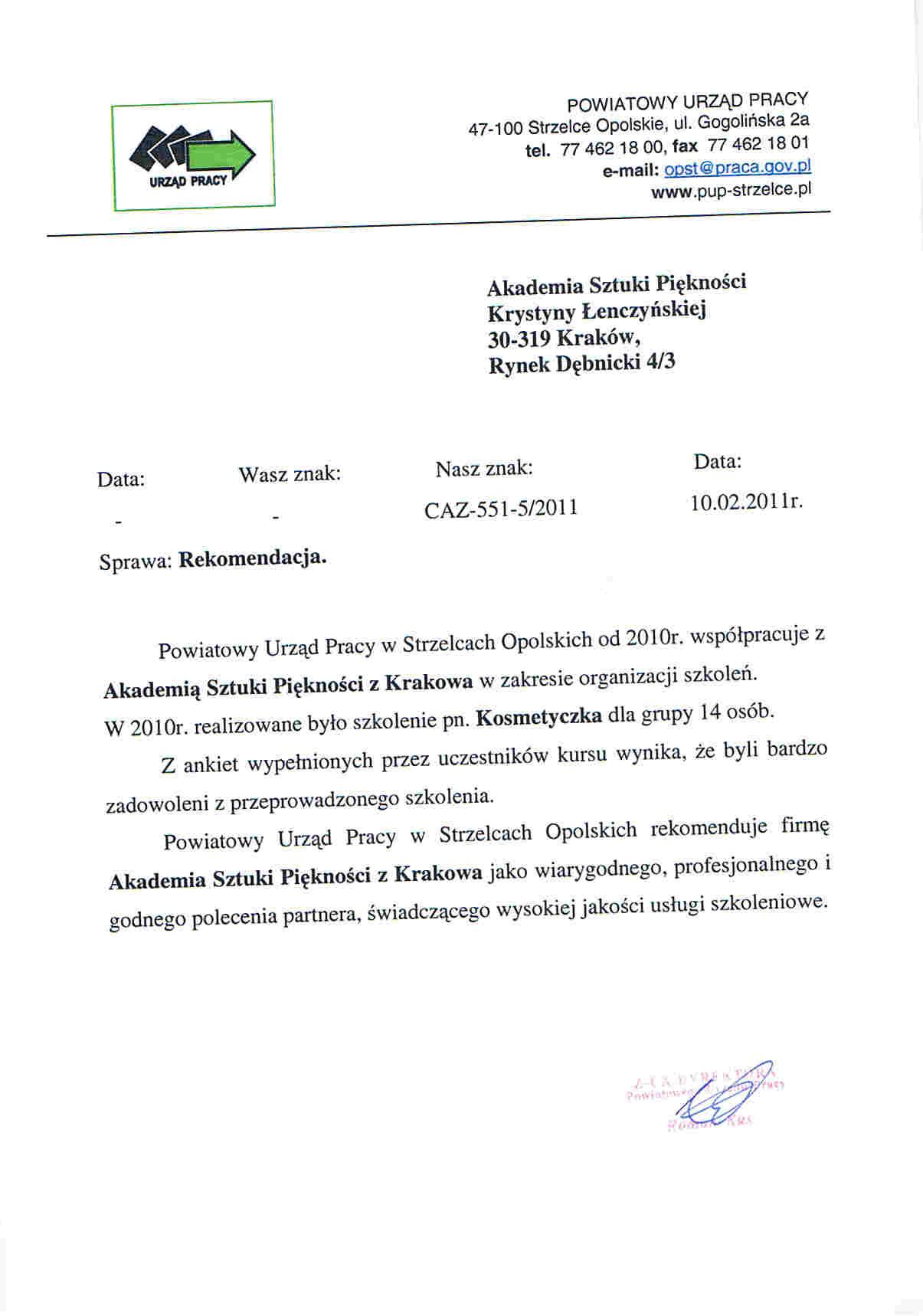 Powiatowy Urząd Pracy w Strzelcach Opolskich-Strzelce Opolskie