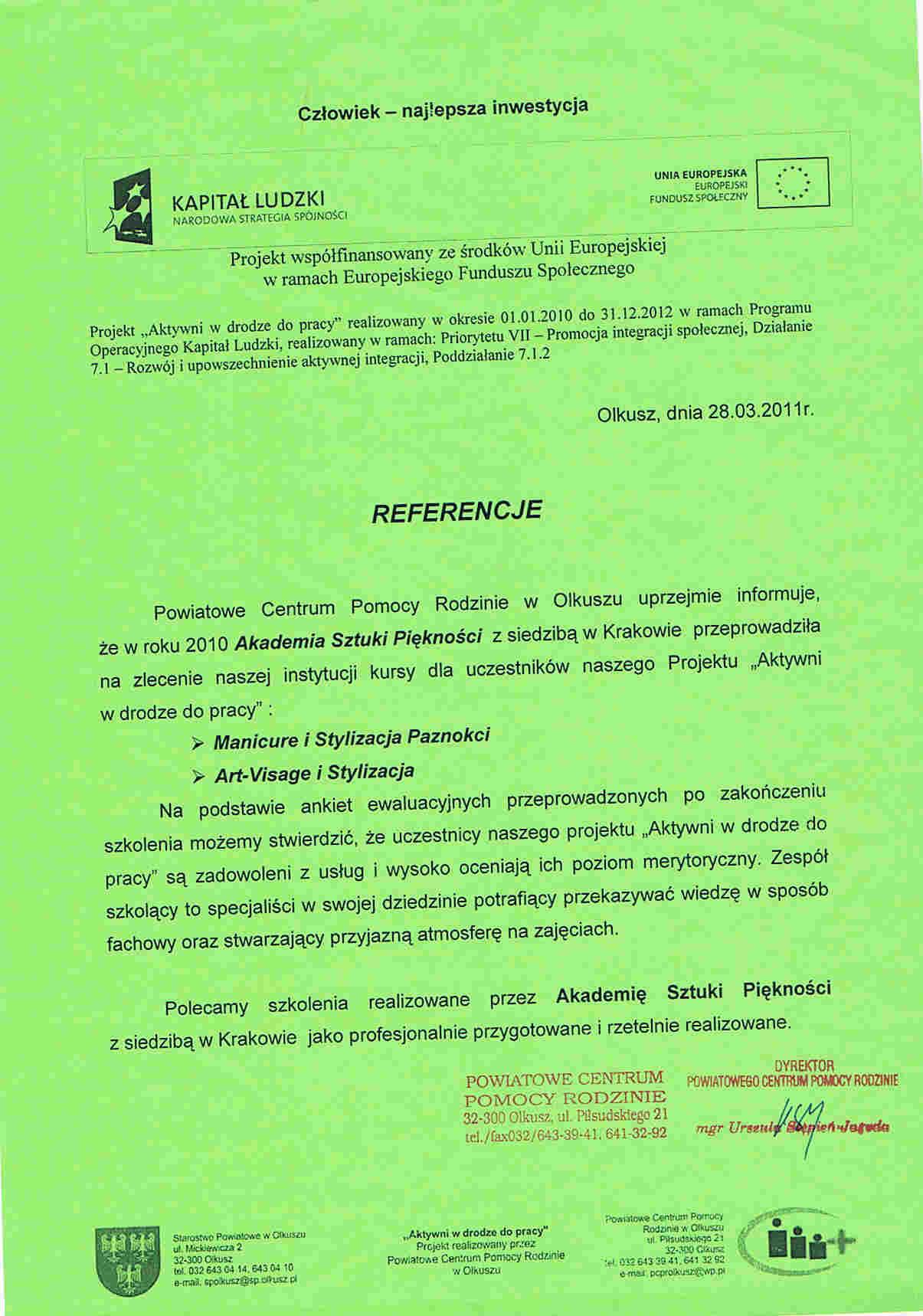 Powiatowe Centrum Pomocy Rodzinie w Olkuszu-Olkusz