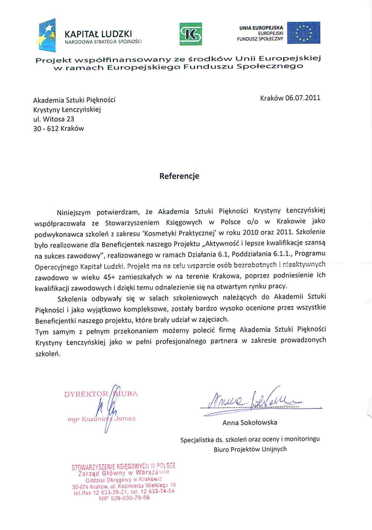 Stowarzyszenie Księgowych w Polsce oddziałów Krakowie-Kraków