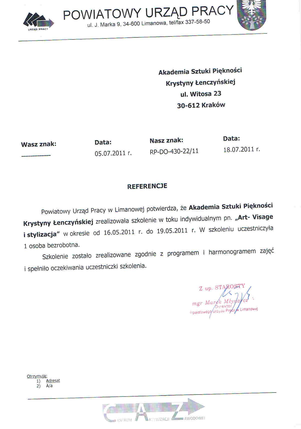 Powiatowy Urząd Pracy w Limanowej-Limanowa