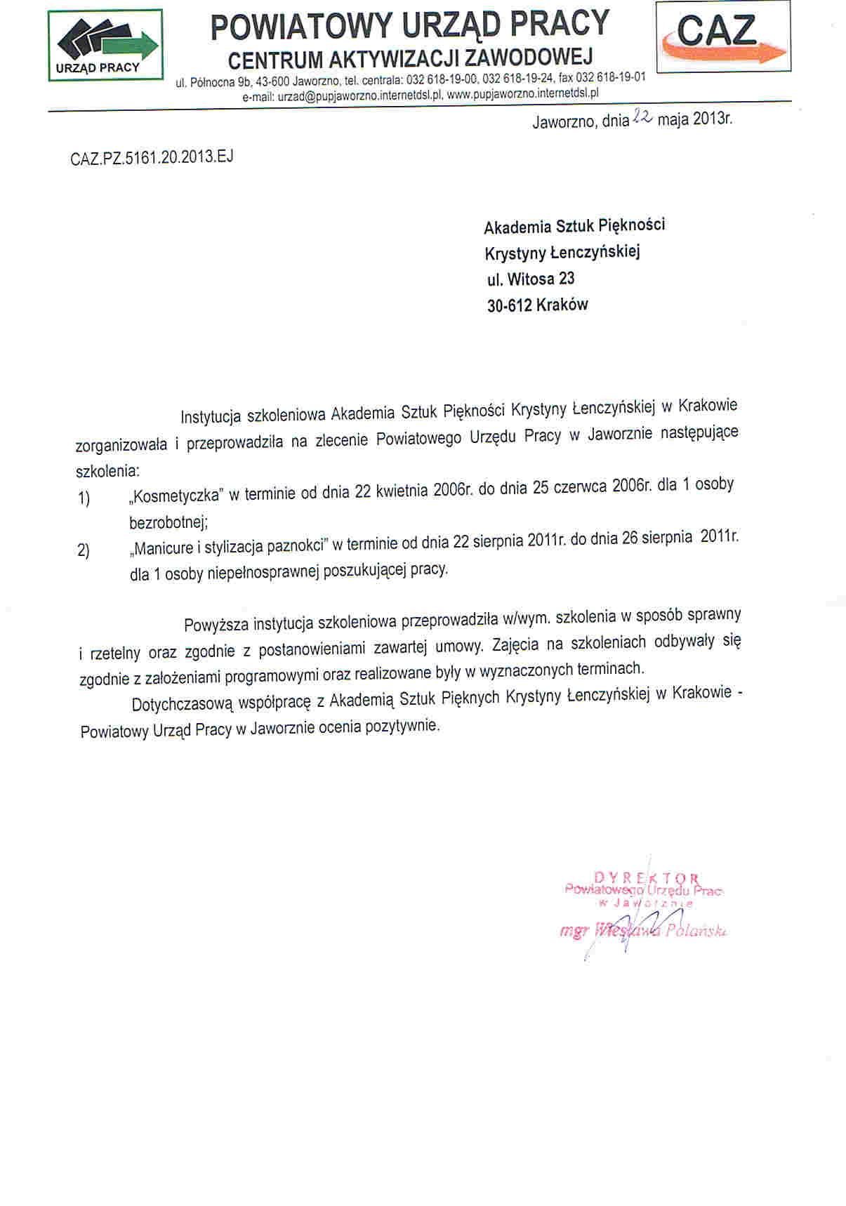 Powiatowy Urząd Pracy w Jaworznie-Jaworzno