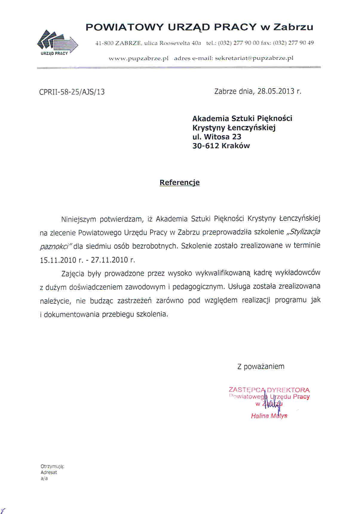 Powiatowy Urząd Pracy w Zabrzu-Zabrze