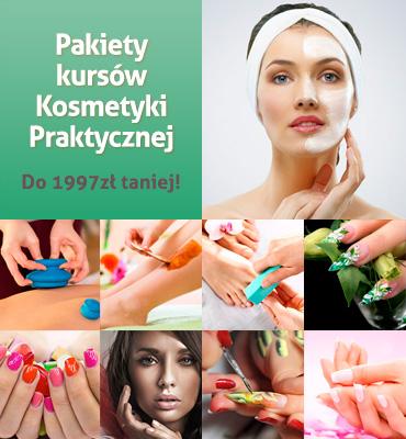 Pakiety kursów Kosmetycznych w promocyjnych cenach!