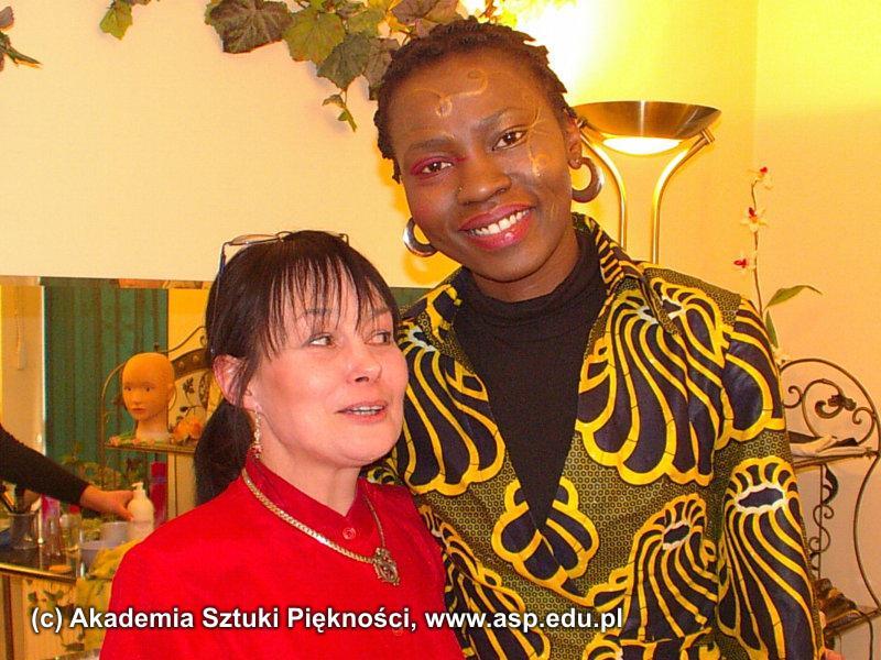 Josiane Mukasa Mwenya, także przyjechała z daleka