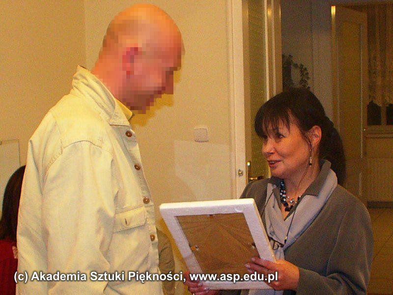 Pan Andrzej B. ukończył kurs Stylizacji Paznokci